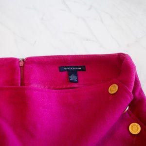 Tommy Hilfiger Skirts - Bright pink Tommy Hilfiger Wool Mini Skirt